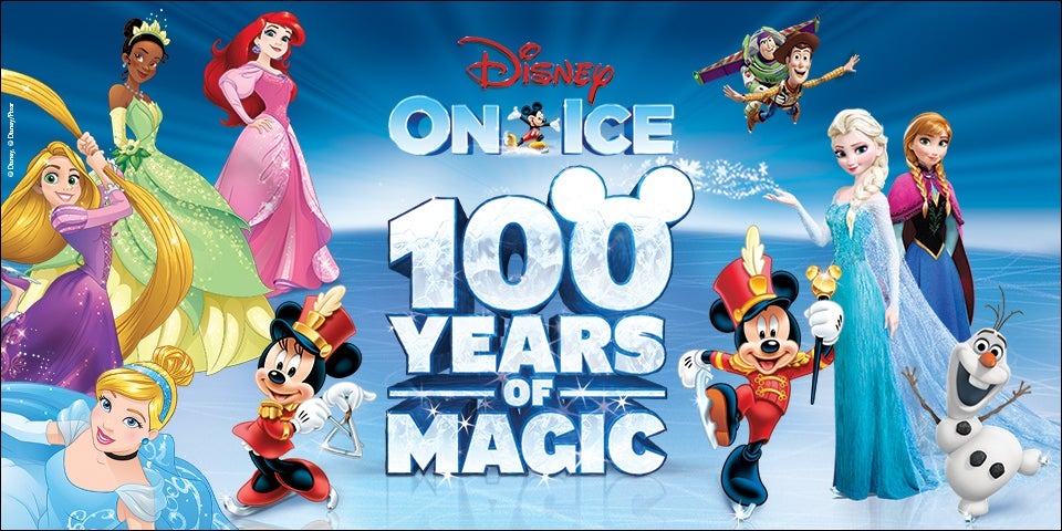 Disney On Ice Presents 100 Years Of Magic Enterprise Center