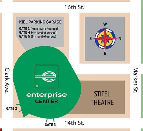 Parking   Enterprise Center
